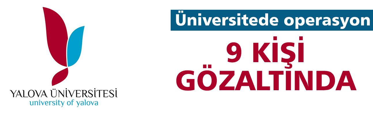 Üniversiteye ihale operasyonu