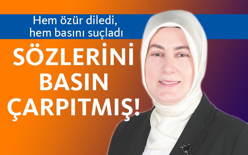 Meliha Akyol, basını suçladı