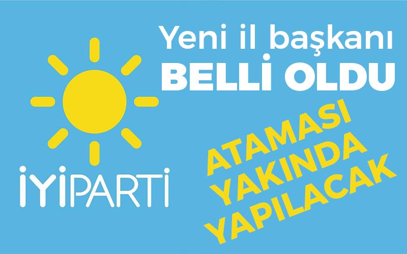 İyi Parti'de yeni başkan Mehmet Çam