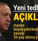 Erdoğan, yeni tedbirleri açıkladı